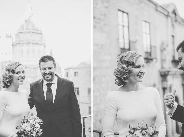 boda vintage vestido largo el cigarral