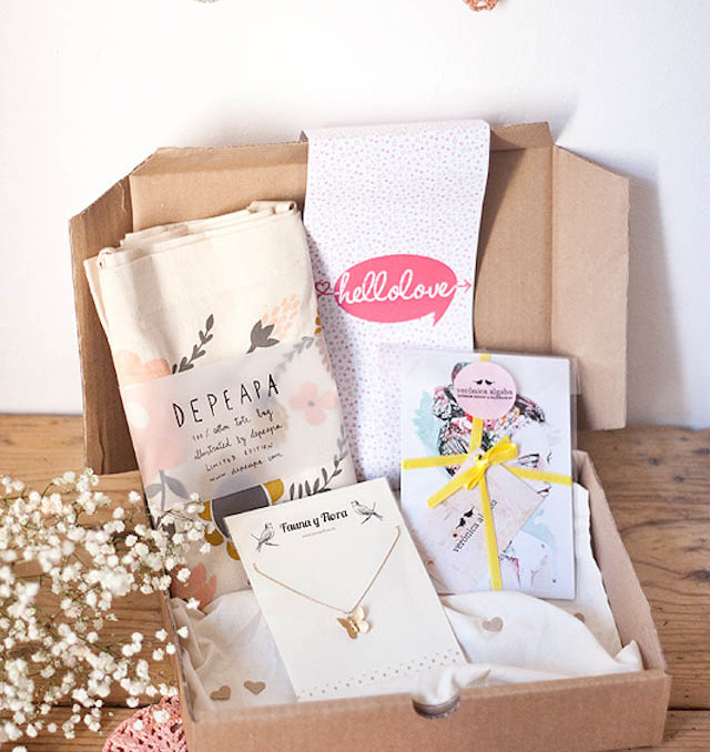 hello love regalos handmade presents box