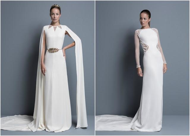 vestidos novia colour nude manga larga bridal dress