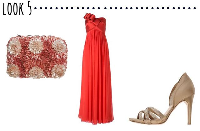 look otoño invitada vestido outfit dress autum