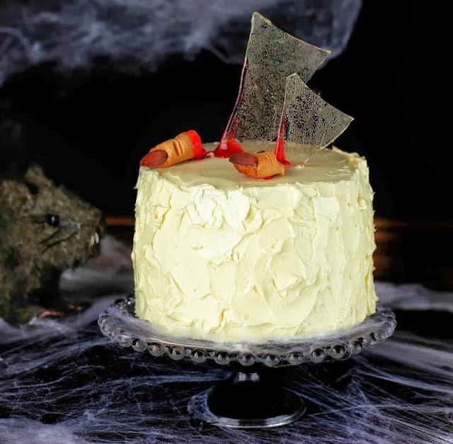 ideas de recetas para Halloween pastel tarta sangre miedo recipe blood calabaza pumkin