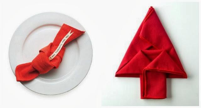 como doblar servilletas ideas mesa