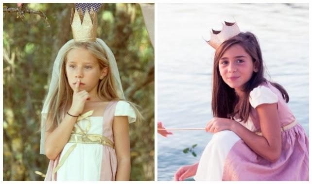 disfraz original capa de mago chico bonito chica niña princesa hada lobo