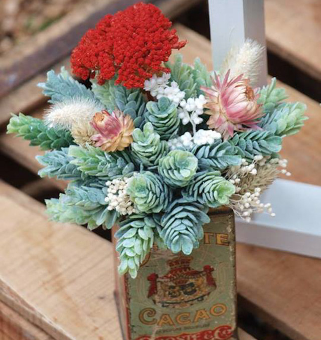 regalo flores original flowers present boda wedding