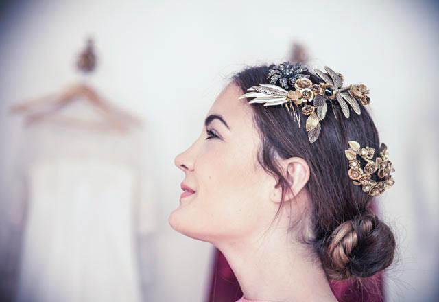 corona joya tiara tocado novia headpiece bride