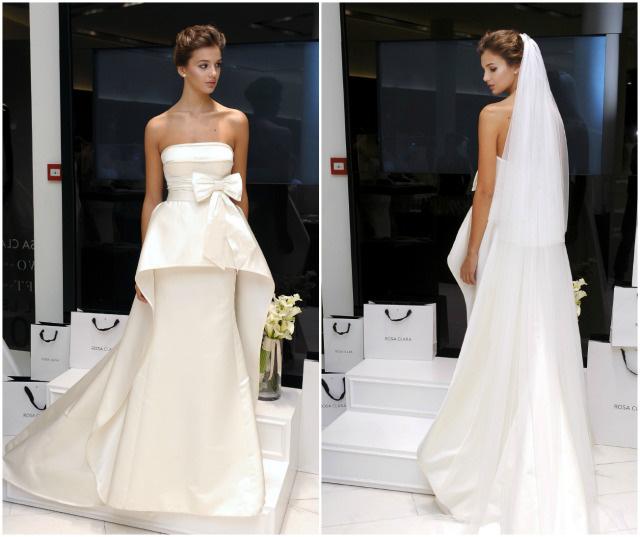 vestido novia rosa clará 2015 wedding dress
