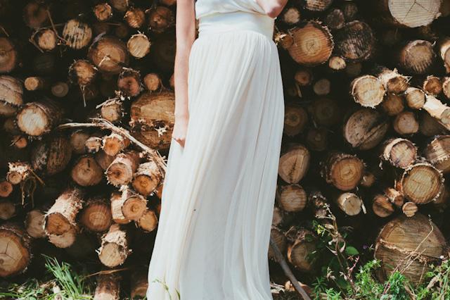 rustic chic bride style novia embarazada le touquet