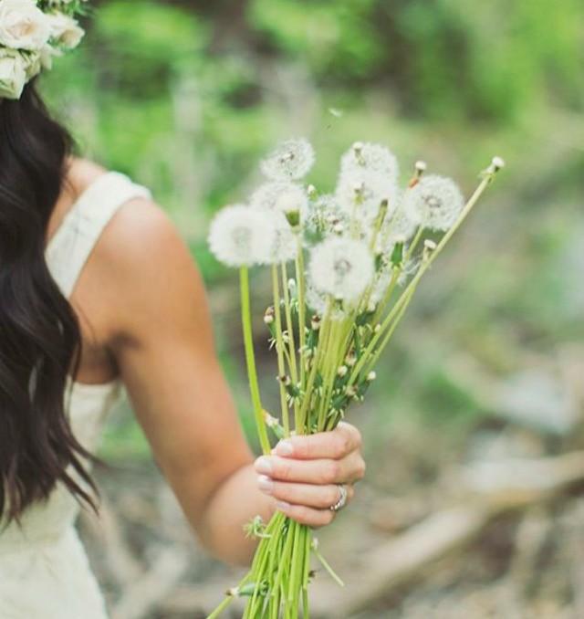 diente de león ideas flores decoracion coronas ramos dandelion