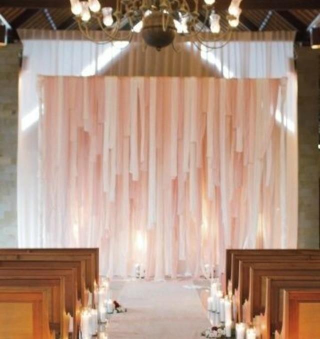 telón de fondo ceremonia ideas decoracion backdrop wedding libros telas parasoles ventanales