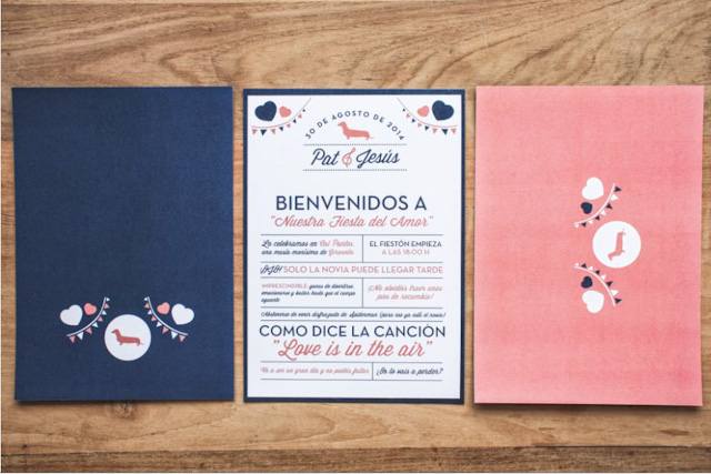invitaciones boda wedding invitation srta edwina