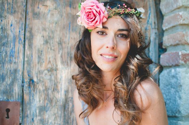 novia maquillaje peinado recogido