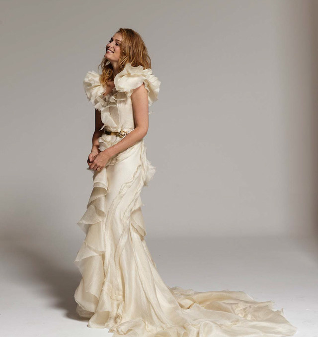 novia vestidos basaldua isabel madrid wedding dress gown