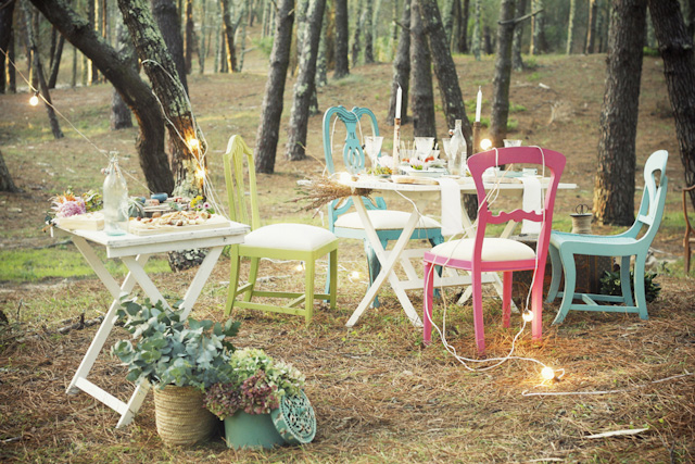 editorial vintage novios boda bosque shooting forest wedding