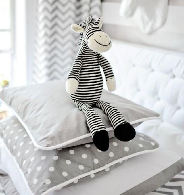 chevron baby bebe deco room