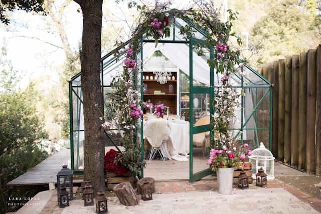 invernadero taller florar bienvenida invierno ideas flores decoración