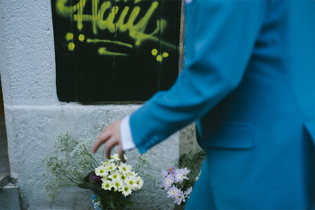 boda rock roll wedding asturias novia vestido corto