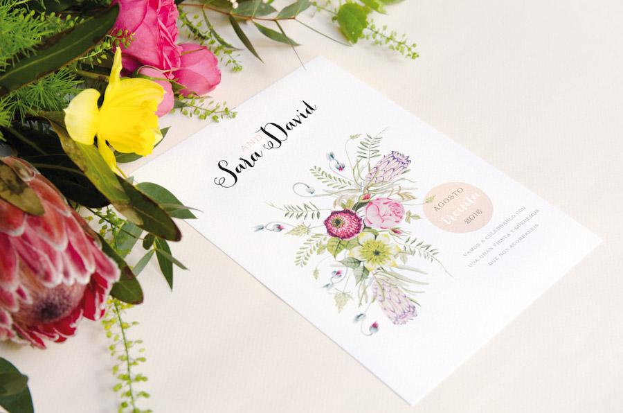 invitaciones boda bonitas originales madera pañuelo ideas barcelona madrid 7