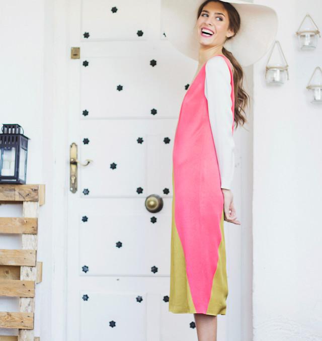 invitada boda look vestido tocado pamela estilismo asesoria novia blog atodoconfetti