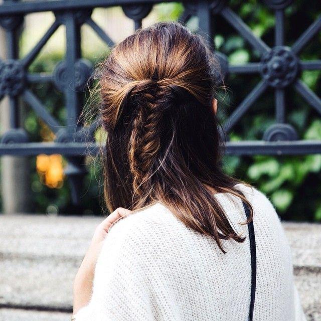 recogido peinado invitada boda novia blog hair messy braid hairstyle