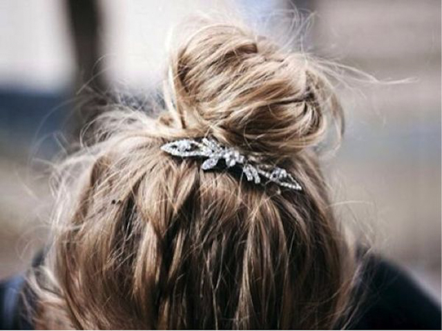 recogido peinado invitada boda novia blog hair messy braid hairstyle