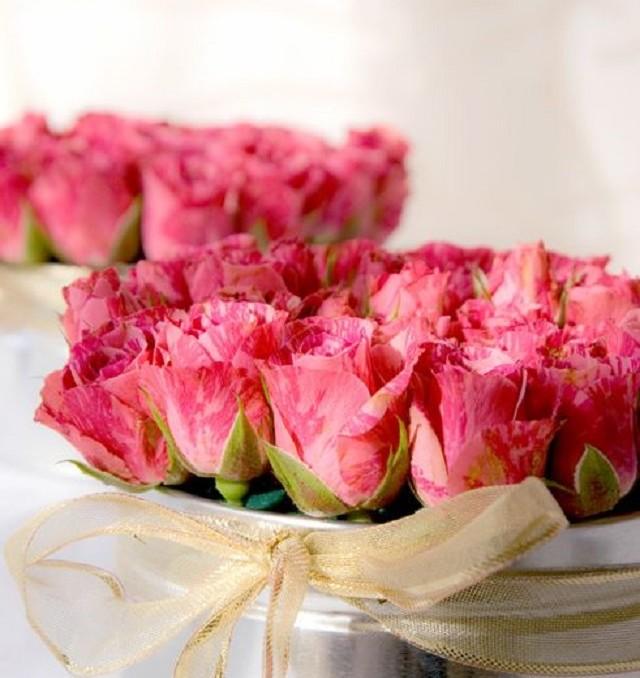 caja flores regalo boda ideas