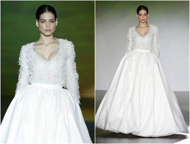 novia vestido boda blog isabel zapardiez capa chubasquero plumas