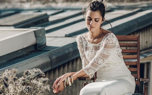 laure sagazan vestido novia boda wedding dress mariee 2016
