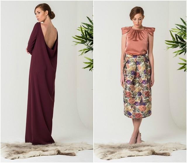 invitada boda blog look david christian colour nude kolonaki bruna