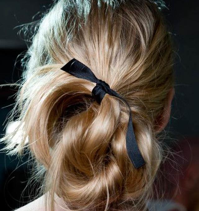 recogido peinado invitada boda hairstyle hairdo pelo