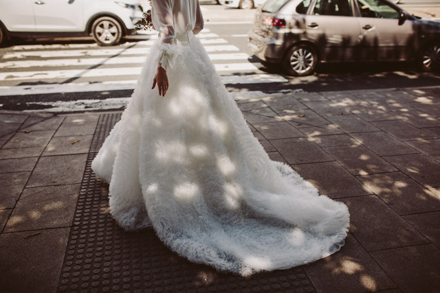 boda galicia nave industrial wedding dress Pronovias