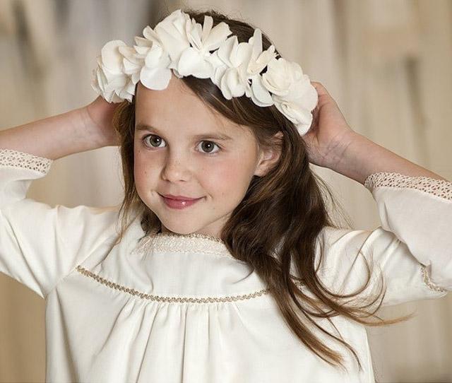 vestido comunion niña comuniones coronas 11