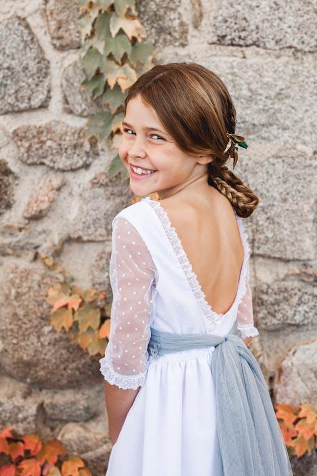 vestido comunion niña comuniones coronas 12