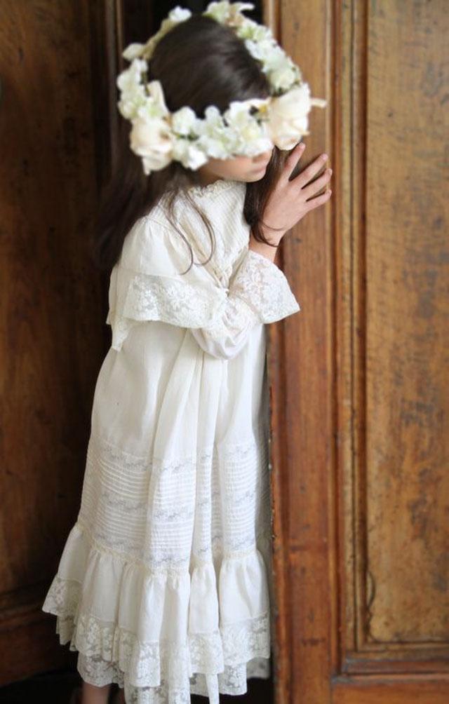 vestido comunion niña comuniones coronas 2