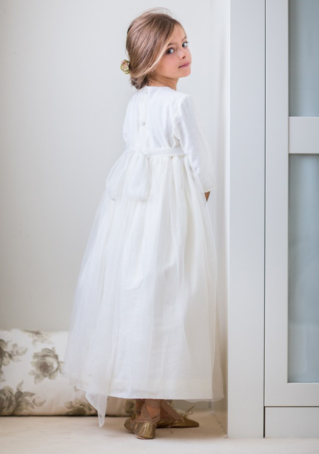 vestido comunion niña comuniones coronas 6