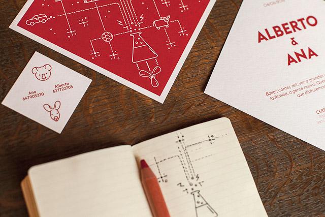 invitaciones boda originales invita rombo diseño ideas 2