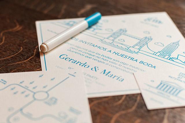 invitaciones boda originales invita rombo diseño ideas 5