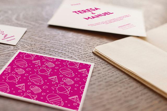 invitaciones boda originales invita rombo diseño ideas 7