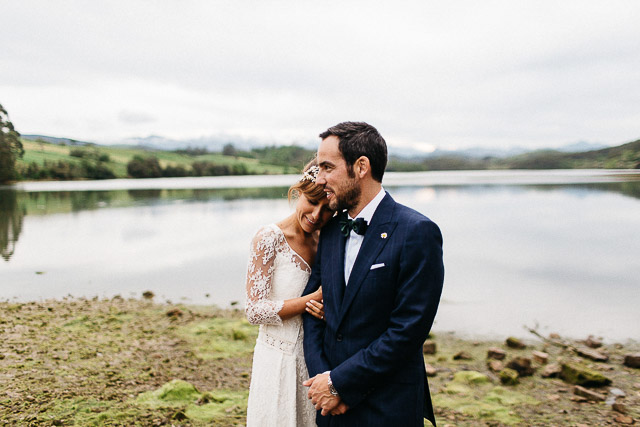 boda blog cantabria san vicente barquera novia vestido laure sagazan wedding spain coleta