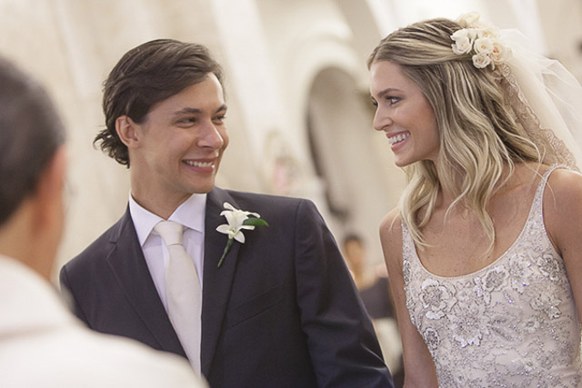 boda helena bordon wedding bride valentino calvin klein dress