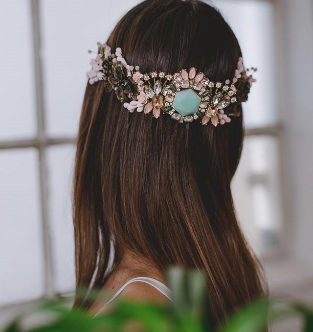 tocado novia invitada boda blog corona peina headpiece wedding