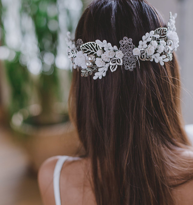 tocado novia invitada boda blog corona peina headpiece wedding