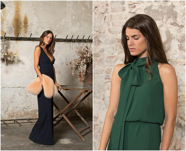 boda blog invitada vestido mono otoño invierno wedding guest look fashion