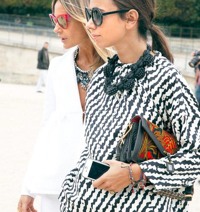 invitada boda blog bodas vestido mono falda rayas stripe style look