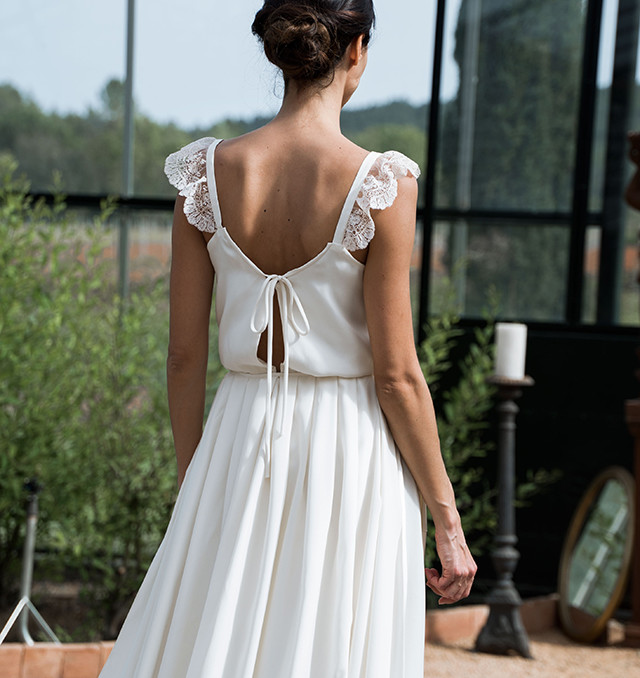 vestido novia barcelona romantico bohemio blog bodas ideal precios