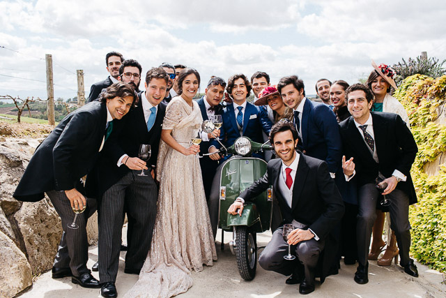 boda blog bodega eguren ugarte vestido novia original mangas