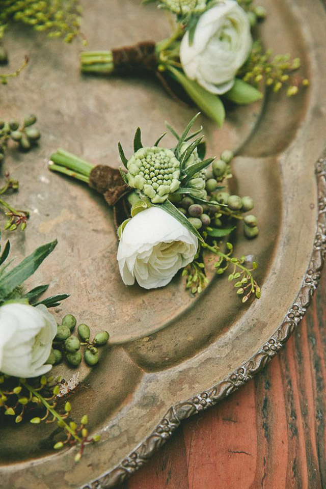 greenery pantone color año 2017 wedding ideas inspiration boda