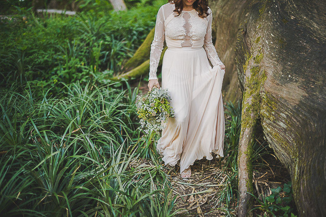 boda blog novia vestido low cost bohemio boho bridal asos wedding dress