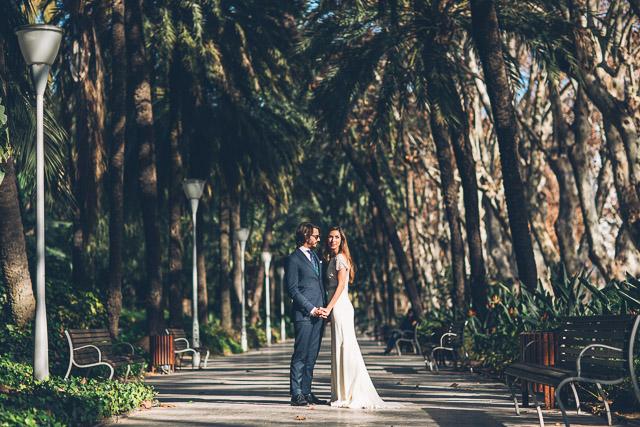 rosa clara novia vestido boda malaga tropical wedding