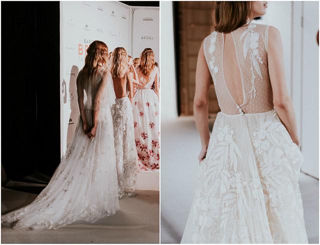 marco y maria vestido de novia bordado especial bonito