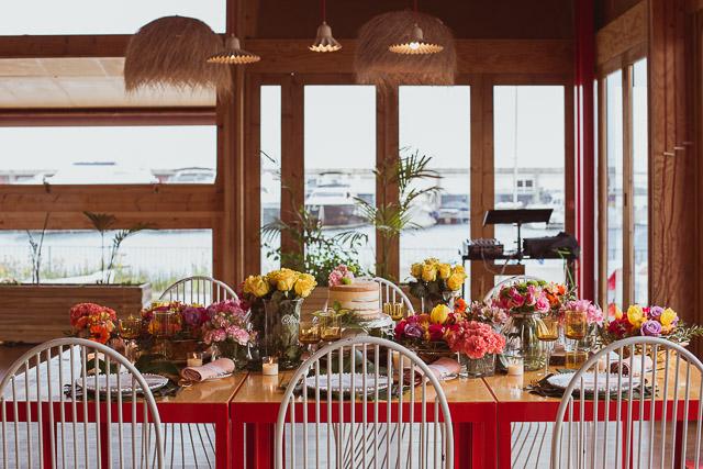 miriam sierra boda tropical palmeras peonias ideas decoracion marta martí